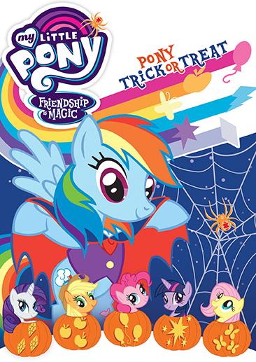 my little pony friendship is magic pony trick or treat dvd