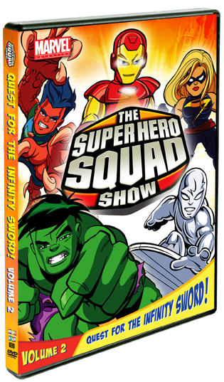 The Super Hero Squad Show: Quest For The Infinity Sword, Vol. 2