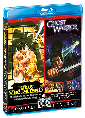 The House Where Evil Dwells / Ghost Warrior [Double Feature]
