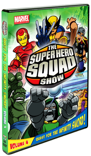 The Super Hero Squad Show: Quest For The Infinity Sword, Vol. 4