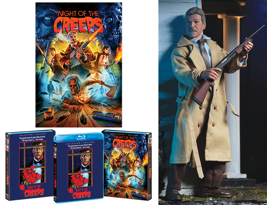 Night Of The Creeps [Deluxe Limited Edition with Exclusive Action Figure]