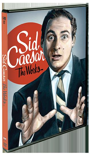 Sid Caesar: The Works + Sid Caesar: Extra Portion (Exclusive Bonus Disc)
