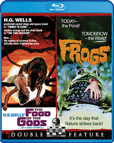 The Food Of The Gods / Frogs [Double Feature] (SOLD OUT)
