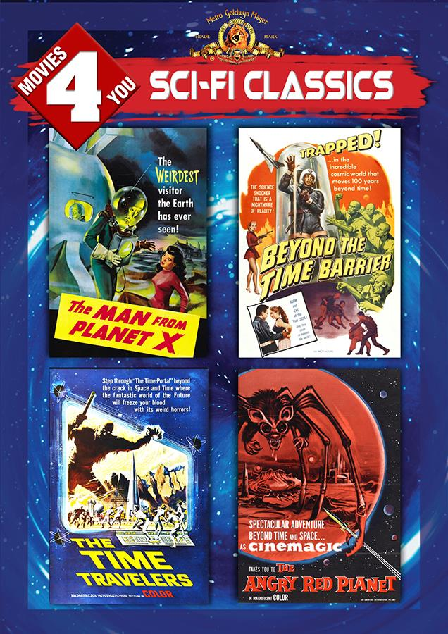 Movies 4 You: Sci-Fi Classics [4 Films]