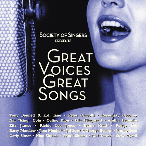 Society Of Singers Presents: Great Voices Great Songs
