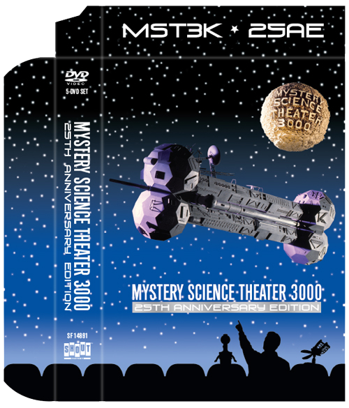 MST3K: 25th Anniversary Edition [Slipcase]