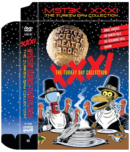 MST3K: Volume XXXI, The Turkey Day Collection [Slipcase]