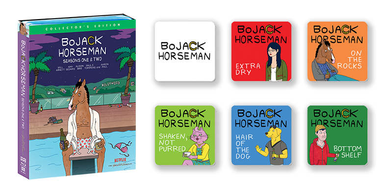 BoJack Horseman: Seasons One & Two [Collector's Edition] + Exclusive Coaster Set