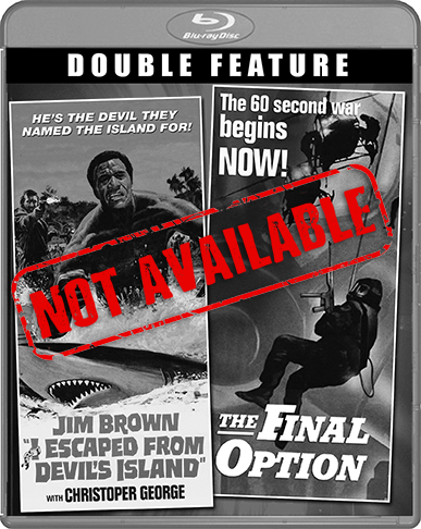 I Escaped From Devil's Island / The Final Option [Double Feature] (SOLD OUT)