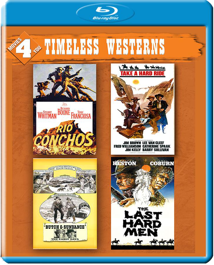 Movies 4 You: Timeless Westerns [4 Films]