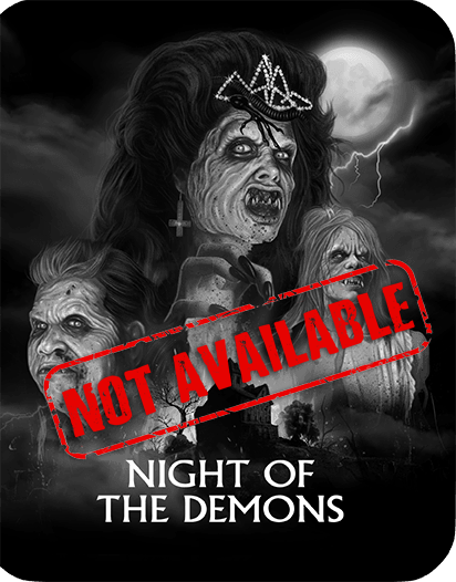 Night Of The Demons [Limited Edition Steelbook] (SOLD OUT)