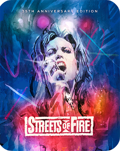 Streets Of Fire [Limited Edition 35th Anniversary Edition Steelbook]