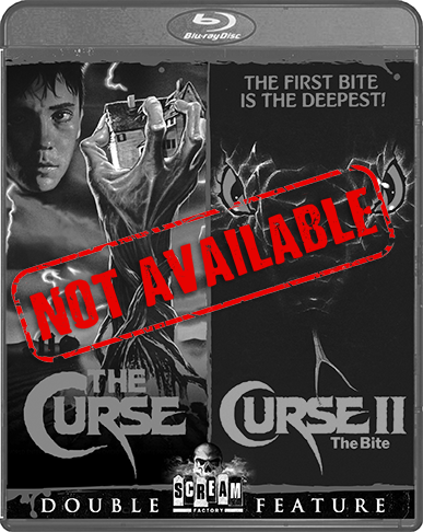 The Curse / Curse II: The Bite [Double Feature] (SOLD OUT)
