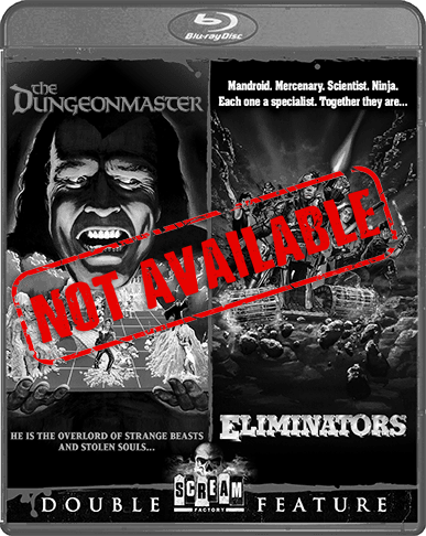 The Dungeonmaster / Eliminators [Double Feature] (SOLD OUT)