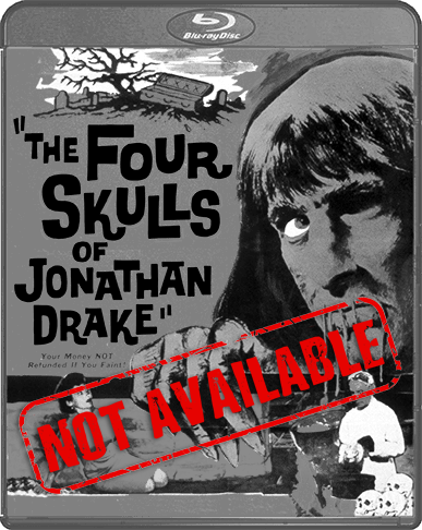 The Four Skulls Of Jonathan Drake (SOLD OUT)