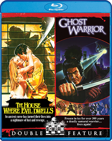 The House Where Evil Dwells / Ghost Warrior [Double Feature] (SOLD OUT)