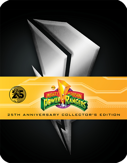 Mighty Morphin Power Rangers: The Complete Series [25th Anniversary Limited Steelbook Edition] (SOLD OUT)