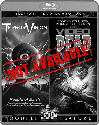 TerrorVision / The Video Dead [Double Feature] (SOLD OUT)