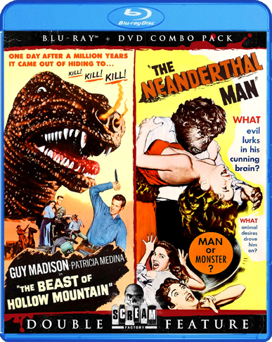 The Beast Of Hollow Mountain / The Neanderthal Man [Double Feature]