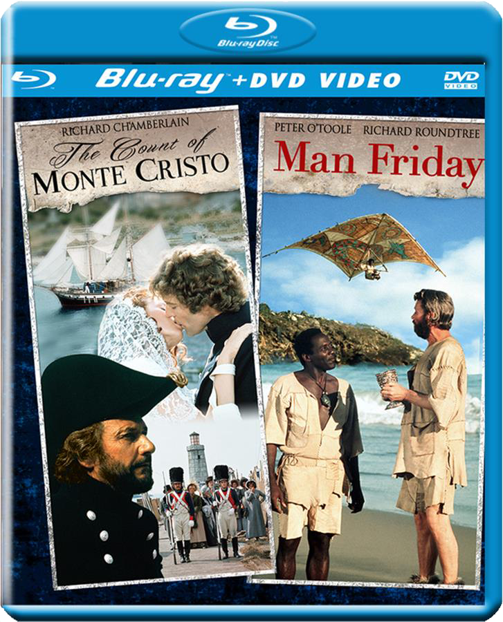 The Count Of Monte Cristo / Man Friday [Double Feature]