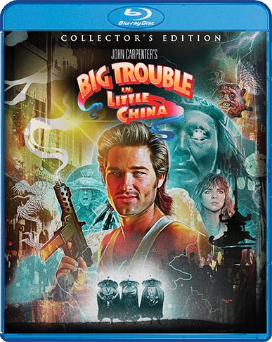 Big Trouble In Little China [Collector's Edition] + Exclusive Poster + Vinyl (SOLD OUT)