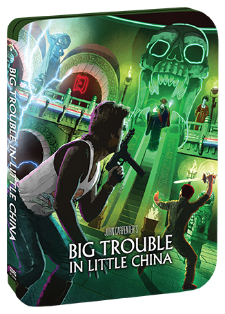 Big Trouble In Little China [Limited Edition Steelbook] + Exclusive Lithograph + Vinyl (SOLD OUT)