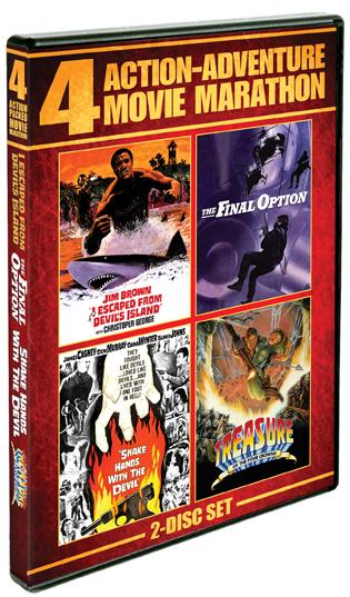 Action-Adventure Movie Marathon [4 Films]