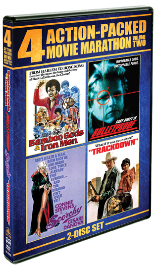 Action-Packed Movie Marathon: Vol. 2 [4 Films] (SOLD OUT)
