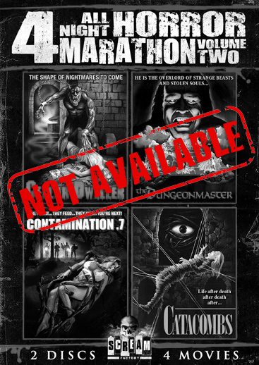 All Night Horror Marathon: Vol. 2 [4 Films] (SOLD OUT)