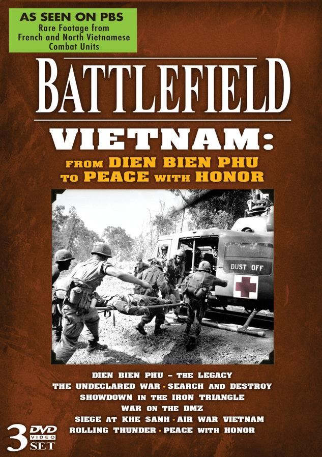 Battlefield Vietnam: From Dien Bien To Peace With Honor
