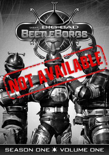 Big Bad Beetleborgs: Season One, Vol. 1 (SOLD OUT)