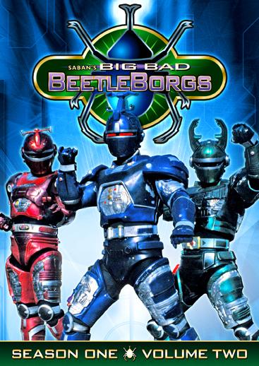 Big Bad Beetleborgs: Season One, Vol. 2