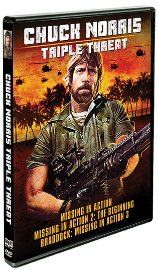 Chuck Norris: Triple Threat [The Missing In Action Trilogy] (SOLD OUT)