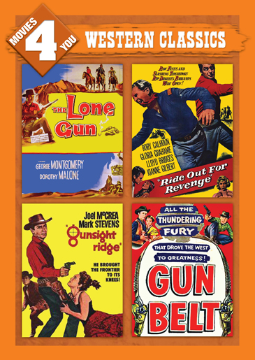 Movies 4 You: Western Classics [4 Films]