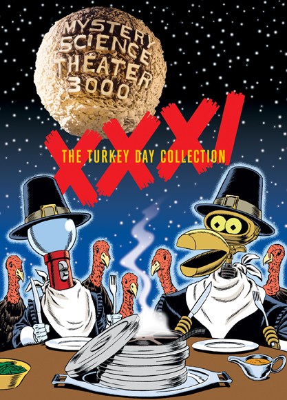 MST3K: Volume XXXI, The Turkey Day Collection [Collector's Edition Tin]