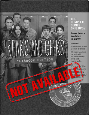 Product_Not_Available_Freaks_And_Geeks_Complete_Series_Yearbook_DVD