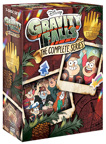 Gravity Falls: The Complete Series [Collector's Edition] + Exclusive Lithograph