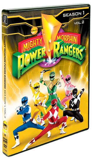 Mighty Morphin Power Rangers: Season One, Vol. 2