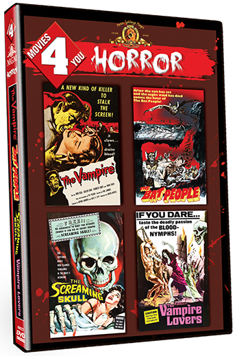 Movies 4 You: Horror [4 Films] (SOLD OUT)