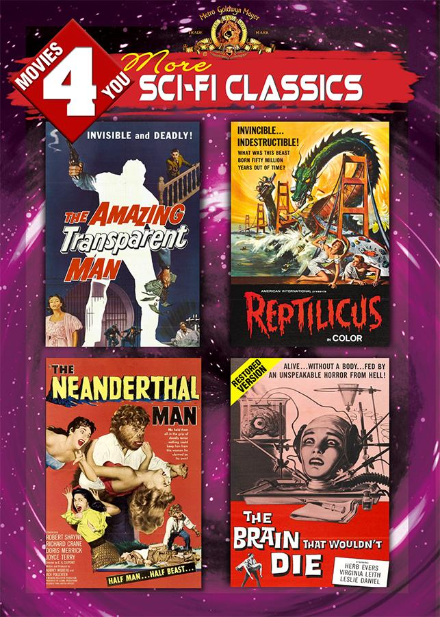 Movies 4 You: More Sci-Fi Classics [4 Films]