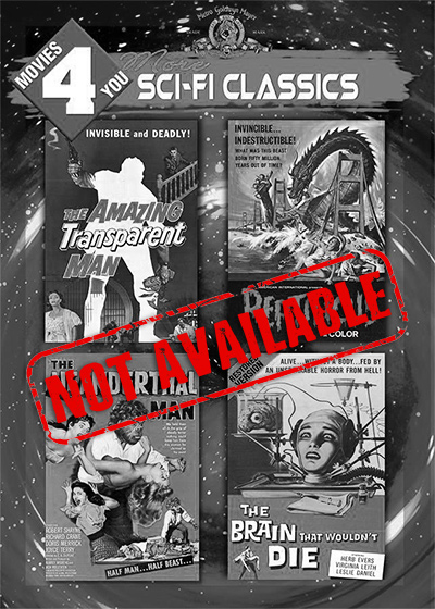 Movies 4 You: More Sci-Fi Classics [4 Films] (SOLD OUT)
