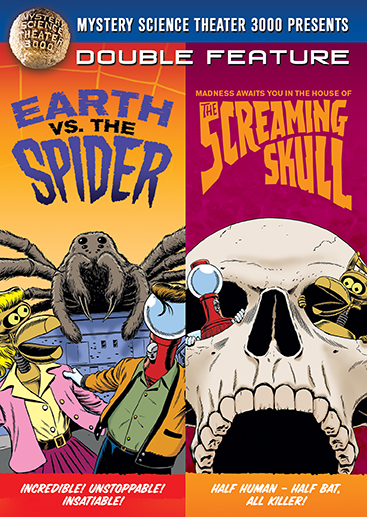 MST3K: Earth Vs. The Spider / The Screaming Skull [Double Feature]