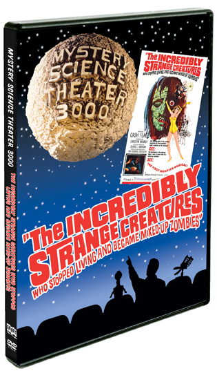 MST3K: The Incredibly Strange Creatures Who Stopped Living…