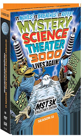 MST3K: Season Eleven [#WeBroughtBackMST3K Collector's Edition]