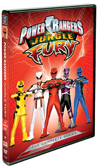 Power Rangers Jungle Fury: The Complete Series