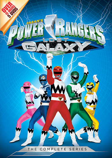 Power Rangers Lost Galaxy: The Complete Series