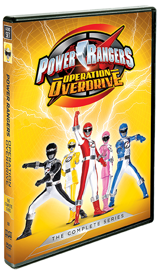 Power Rangers Operation Overdrive: The Complete Series