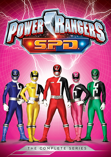 Power Rangers S.P.D.: The Complete Series