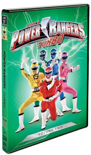 Power Rangers Turbo: Vol. 2
