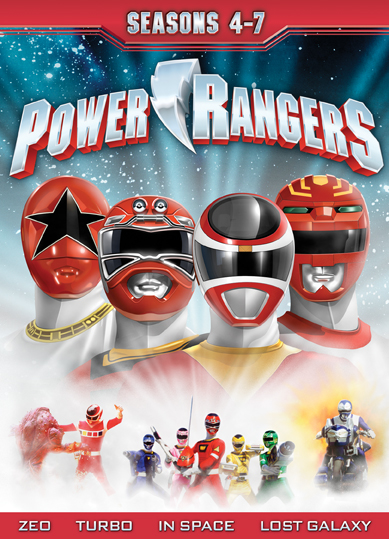 Power Rangers: Seasons 4-7 (SOLD OUT)